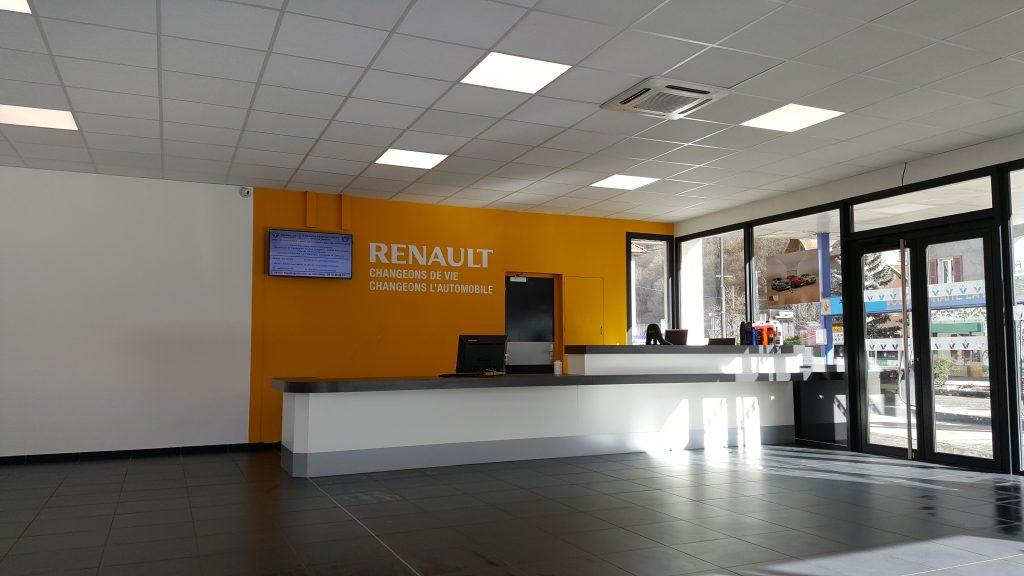 R novation garage autoservices tnr r novations for Garage renault villeneuve la guyard